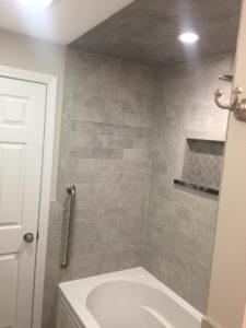 Lucey bath remodel